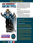 Iconic Archetypes: Micromorph