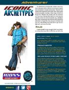 Iconic Archetypes: Adventurer