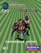 The Manual of Mutants & Monsters: Demagogue Demon for ICONS