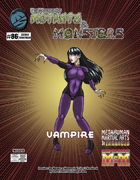 The Manual of Mutants & Monsters: Vampire