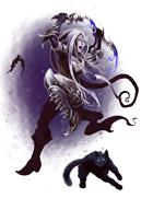 Quico Vicens Picatto Presents: Halloween Dark Elf Rogue