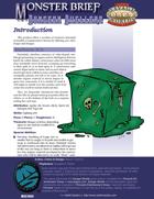 Monster Brief: Dungeon Dwellers