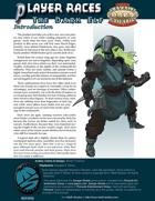 Player Races: the Dark Elf