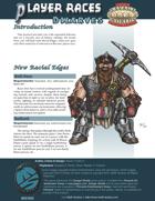 Player Races: Dwarves