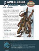 Player Races: Dragon Men