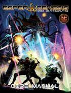 Esper Genesis 5E Sci-fi -  Core Manual