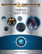 Esper Genesis Sci-fi Threat Tokens