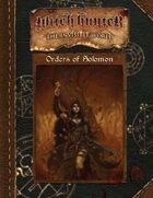 Witch Hunter: Orders of Solomon
