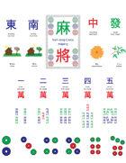 Mini Mahjong Cards