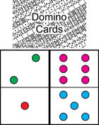 Mini Domino Cards - Double Six
