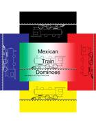 Mini Domino Cards - Mexican Train-marker-set1