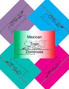 Mini Domino Cards - Mexican Train-marker-set2