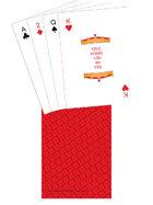 Poker Deck - TTC back - Red