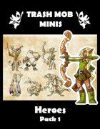 Heroes: Pack 1