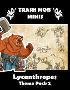 Lycanthropes: Theme Pack 2