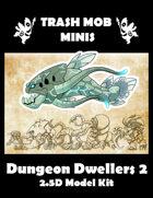 Dungeon Dwellers 2: 2.5D Model Kit