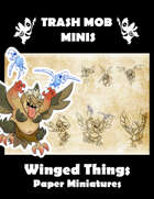 Winged Things: Paper Miniatures