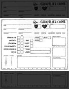 Ghostlike Crime Character Sheet