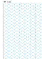 A2 Isometric Paper