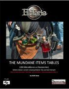 200 Mundane Items