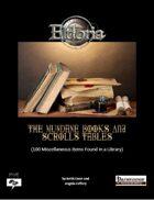 Mundane Books and Scrolls Tables