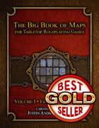 The Big Book of Maps for Tabletop Roleplaying Games - Volume 1: Fantasy Adventure