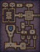 VTT Map Set - #001 Simple Dungeon