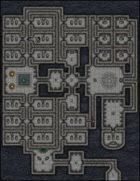 VTT Map Set - #003 Dark Crypt