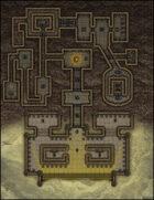 VTT Map Set - #007 Desert Tomb