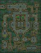 VTT Map Set - #008 The Emerald Keep