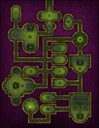 VTT Map Set - #011 Neon Arcana