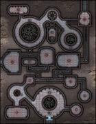 VTT Map Set - #014 Abandoned Automaton Factory