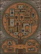 VTT Map Set - #017 Menagerie of the Keymaster