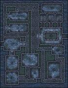 VTT Map Set - #018 Deep Sea Dungeon