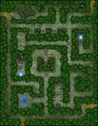VTT Map Set - #022 Enchanted Hedge Maze