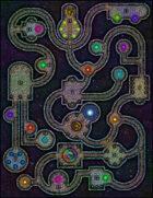 VTT Map Set - #025 Interplanar Astral Crossroads