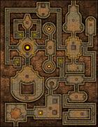 VTT Map Set - #044 The Citrine Keep