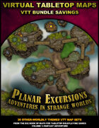 VTT Bundle: Planar Excursions  - Strange Worlds [BUNDLE]