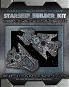 Starship Builder Kit: #1 - Terran Battle-Hardened Ships