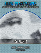 Alien Planetscapes I: Icy Planet