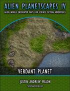 Alien Planetscapes IV: Verdant Planet