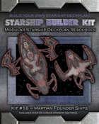 Starship Builder Kit: #16 - Martian Founder ships
