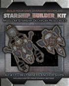 Starship Builder Kit: #17 - Belt Miners Anchor Ships