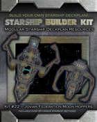 Starship Builder Kit: #22 - Jovian Federation Moon Hoppers