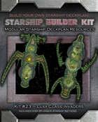Starship Builder Kit: #23 - Luxx Class Invaders