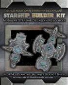 Starship Builder Kit: #24 - Planetary Alliance Science Ships