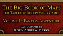 Big Book of Maps - Fantasy Adventure