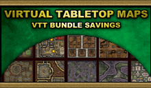 Virtual Tabletop (VTT) Map Bundles