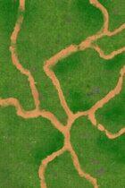 Grass Field Game Mat 02 6x4