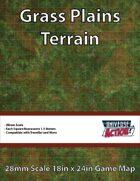 Grass Plains Terrain Map (Squares = 1.5 Meters)